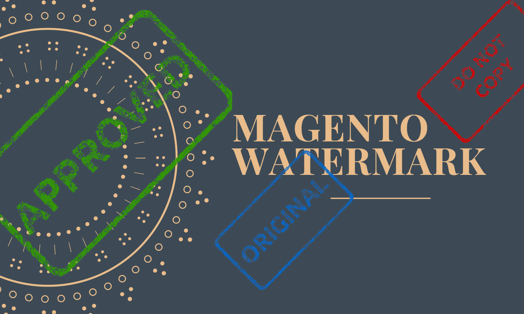 Affirming Your Products by Magento 2 Watermark