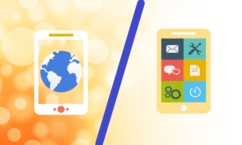 Mobile Web vs. Mobile App and The Movement of Internet